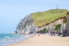 Free Cap Blanc-nez Seen From The Beach Royalty Free Stock Image - 154270626