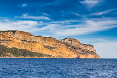 Cap Canaille The Highest Sea Cliff In France Royalty Free Stock Photo
