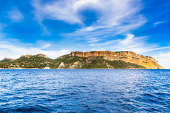 Cap Canaille The Highest Sea Cliff In France Stock Photography