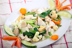 Cap Cay (Asian food / Chinese food) Stock Images
