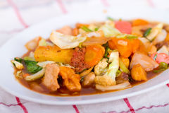 Cap Cay (Chinese food) Stock Photos