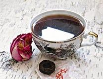 Cap of chinese tea Stock Photos