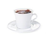 Cap of coffee Stock Photography