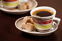 Cap of coffee Royalty Free Stock Photography