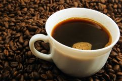 Cap of coffee Stock Photos
