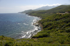 CAP CORSE, CORSE, FRANCE Images libres de droits