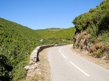 Cap Corse, the inside territory Royalty Free Stock Images
