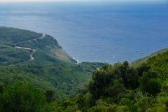 Cap Corse Landscape Stock Photography