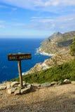 Cap Corse Landscape Stock Image