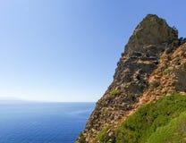 Cap Corse, the mediterranean coast. Stock Photo