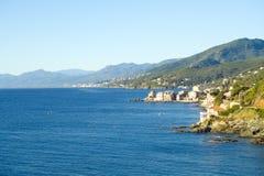 Cap Corse, the mediterranean coast. Royalty Free Stock Photography