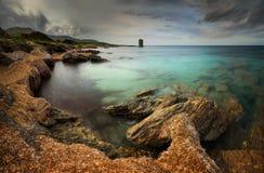 Cap Corse torn Arkivfoton