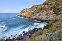 Cap Corsica coast Stock Photos