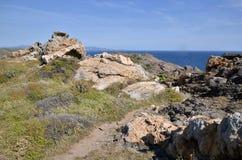 Cap Creus in Spain stock image
