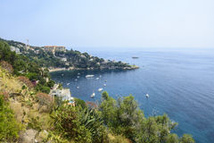 Cap d'Ail (Cote d'Azur) Royalty Free Stock Photography