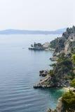 Cap d'Ail (Cote d'Azur). Cap d'Ail (Alpes-Maritimes, Provence-Alpes-Cote d'Azur, France): the coast at summer Stock Photos
