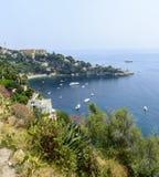 Cap d'Ail (Cote d'Azur). Cap d'Ail (Alpes-Maritimes, Provence-Alpes-Cote d'Azur, France): the coast at summer Stock Photography