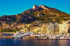 Free Cap D`ail Harbor And Tête De Chien Mountain Stock Photos - 87616553