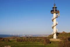 Cap d`Alprech lighthouse Stock Image