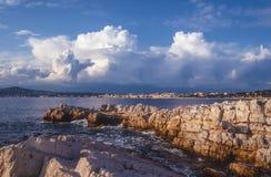 Cap d`Antibes Stock Photography