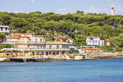 Cap d'Antibes, French Riviera Stock Image