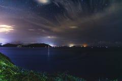Cap D& x27 ; Vue 02 de nuit d'Aguilar Photos stock
