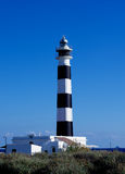 Cap de Artrutx Lighthouse Stock Photography