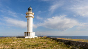 Cap de Barbaria Lighthouse Photo libre de droits