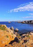 Cap de Cavalleria on Minorca Stock Image
