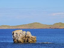 Cap de Cavalleria on Minorca Stock Photography