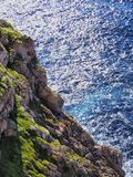 Cap de Cavalleria on Minorca Royalty Free Stock Photos