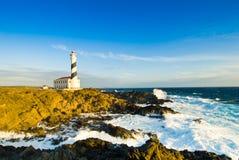 Cap de Favaritx. Lighthouse, Menorca Royalty Free Stock Image