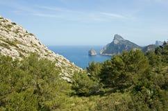 Cap de Formentor. On island Mallorca royalty free stock photography
