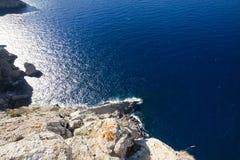 Cap de Formentor - beautiful coast of Majorca, Spain - Europe. Cap de Formentor - beautiful coast of Majorca, Spain - Europe Royalty Free Stock Image