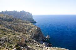 Cap de Formentor - beautiful coast of Majorca, Spain - Europe. Stock Image