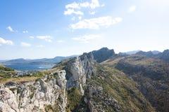 Cap de Formentor - beautiful coast of Majorca, Spain - Europe. Cap de Formentor - beautiful coast of Majorca, Spain - Europe Royalty Free Stock Images