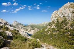 Cap de Formentor - beautiful coast of Majorca, Spain - Europe. Cap de Formentor - beautiful coast of Majorca, Spain - Europe Stock Images