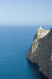 Cap de Formentor, Lighthouse. Lighthouse on Cap de Formentor, Mallorca stock image