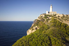 Cap De Formentor Lighthouse lizenzfreie stockbilder