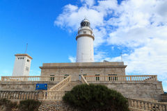 Cap de Formentor Lighthouse on Majorca Royalty Free Stock Image