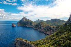 Cap de Formentor. Stock Photography