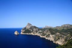 Cap de Formentor Majorque image stock