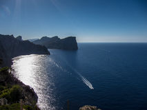 Cap de Formentor Royalty Free Stock Images