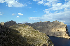 Cap de Formentor in Mallorca island Royalty Free Stock Images