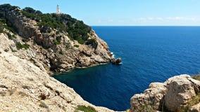 Cap de Formentor, Mallorca, Spagna Fotografie Stock