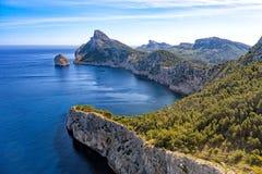 Cap de Formentor, Mallorca. royalty free stock images