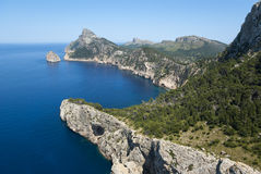 Cap de Formentor Royalty Free Stock Photo
