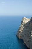 Cap de Formentor, phare Image stock
