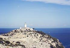 Cap de Formentor. Tip of a peninsula in Majorca, Spain Stock Image