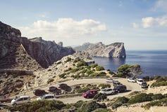 Cap de Formentor. Tip of a peninsula in Majorca, Spain Stock Photography